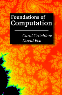 Foundations of Computation Cover
