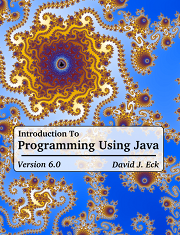 Javanotes 6 0 -- Title Page